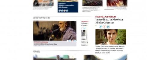 Nicoletta Filella Live at Radio Popolare – Comunicato Stampa